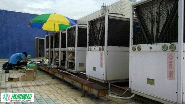 风冷模块机组控制板维修改造实例