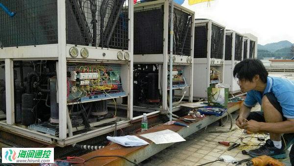 风冷模块机组控制器维修改造实例