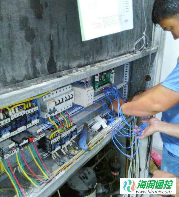 海润通控水冷柜机通用控制板接线
