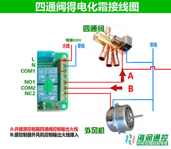 空调化霜控制器接线图