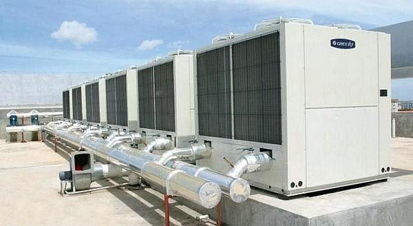 格力65/130风冷模块机空调密码解锁