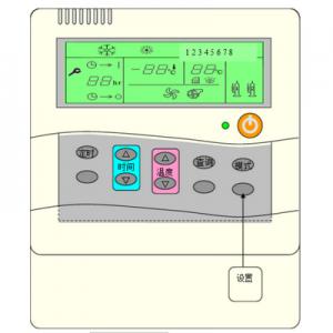 LOTUS劳特斯风冷模块机组手操器外观